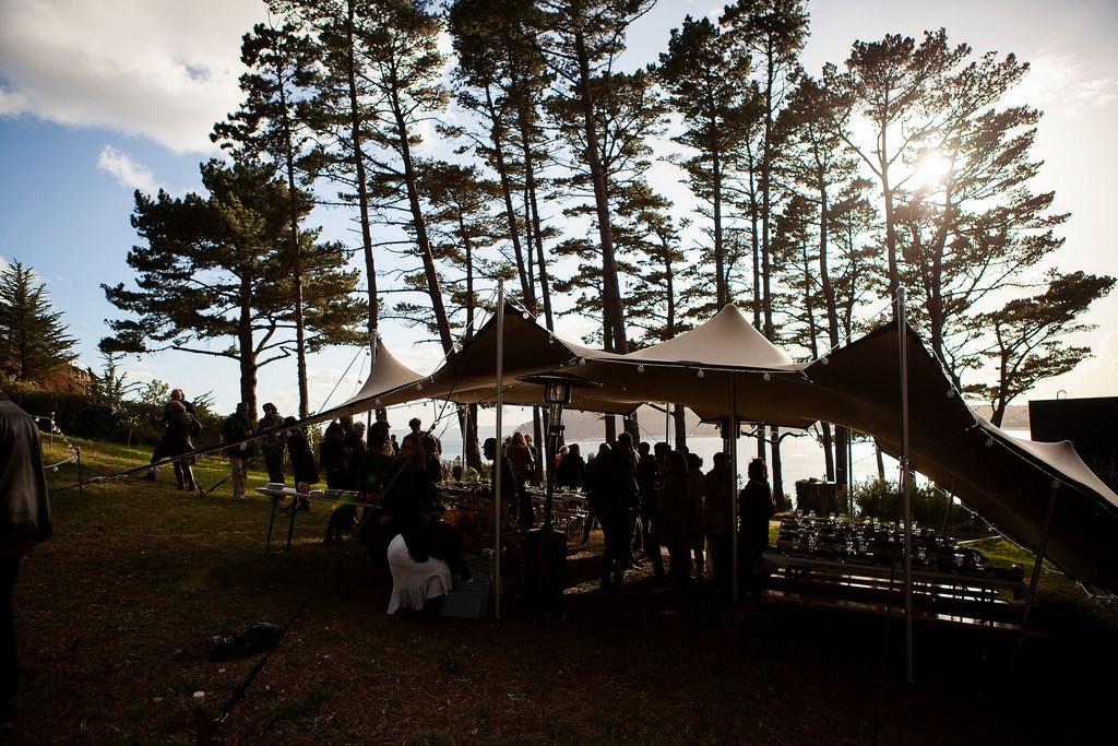 La 4x4 des tentes de réception