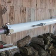 Tête de mât avec feux et antenne VHF