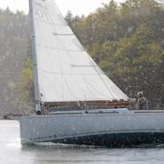 Passage du grain sur le bateau