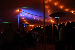 Ambiance du soir - tente nomade