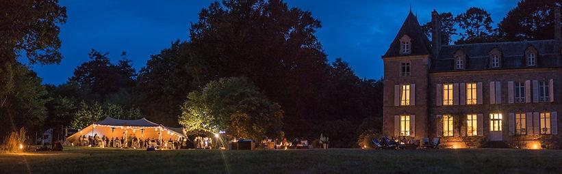 Château de Penfrat, un lieu idéal pour installer une tente stretch