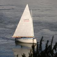 Un voilier simple