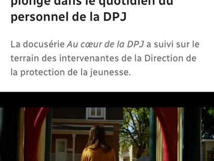"""Nouvelle série """"Au cœur de la DPJ"""""""