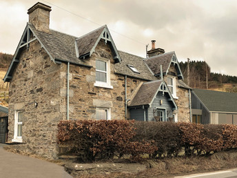 Alterations and Extension to Cottage in Perthshire - Planning Application lodged
