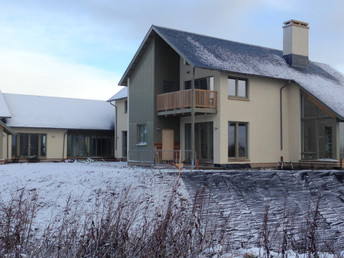 House in West Lothian nears completion