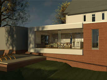 Proposed House Extension , Glasgow