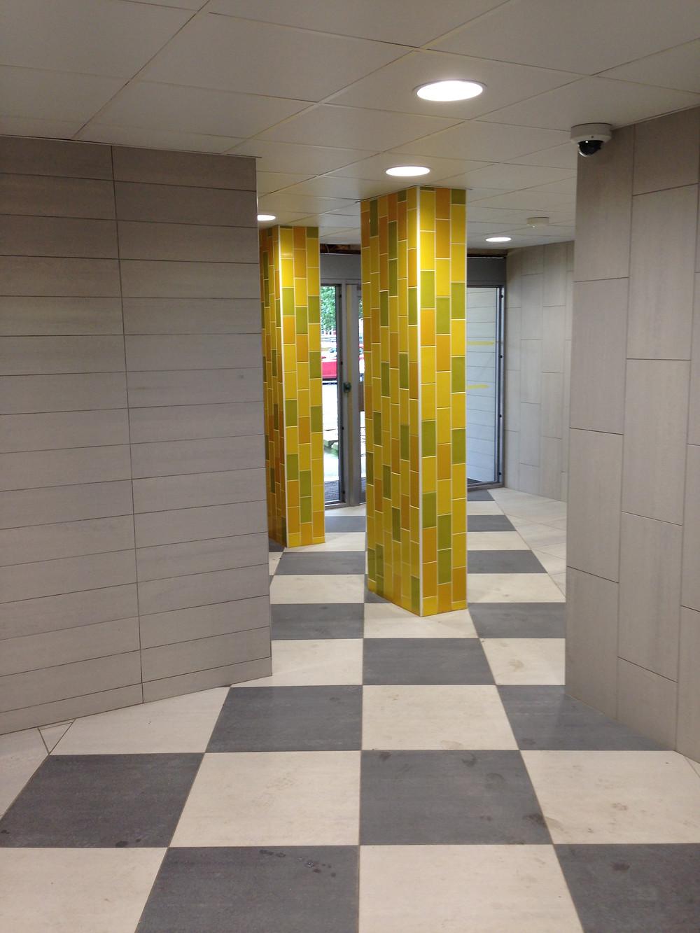 finished foyer