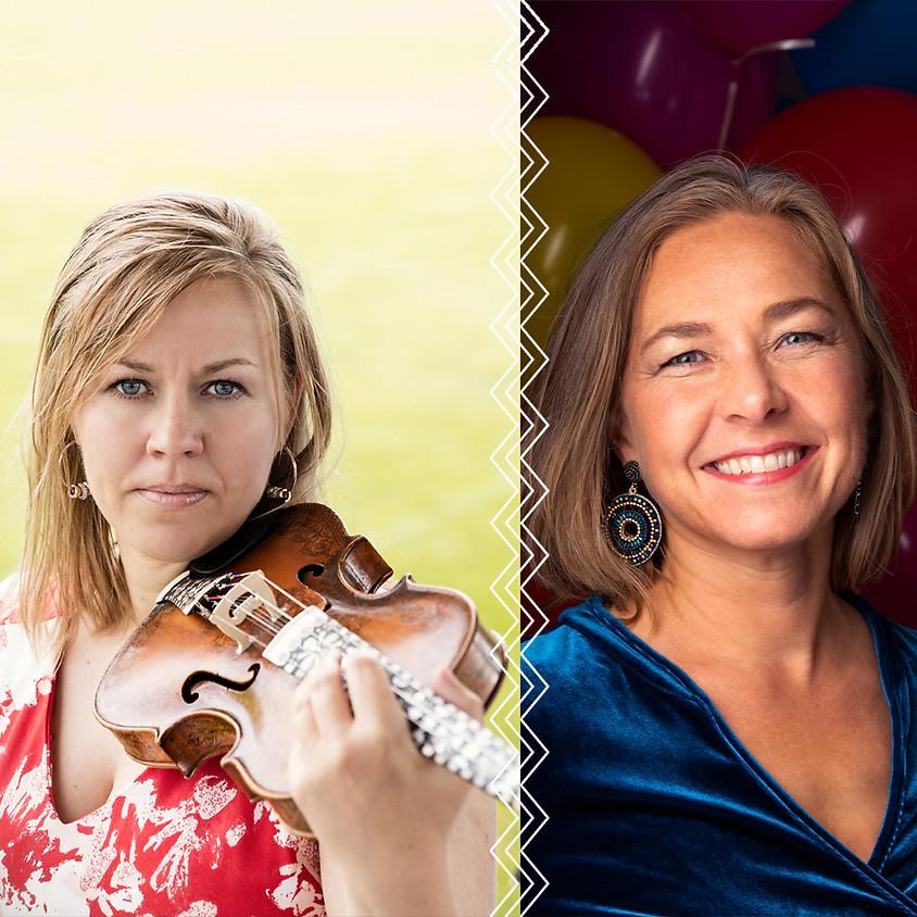 Dobbelkonsert: Britt Pernillie Frøholm og Margrete Nordmoen
