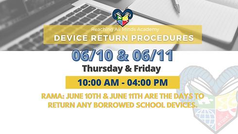 Copy of RAMA Device Return Procedures  (