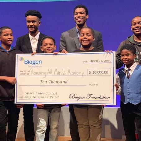 Reaching All Minds Academy Wins $10,000 Biogen SPARK Video Contest