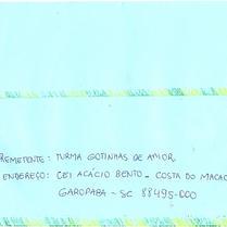 Visita aos correios e o envio da carta ao CEI do Centro
