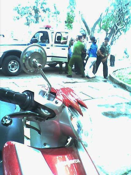 Phạm Xuân Giao bị bắt tại Công viên