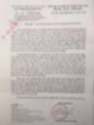 Công văn hỏa tốc về mạo danh bán vé khống Shenyun