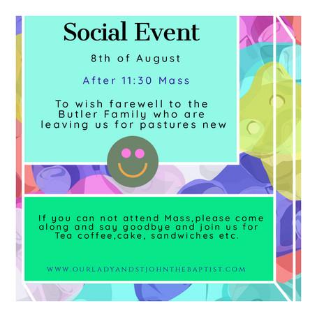 Farewell Social Event!