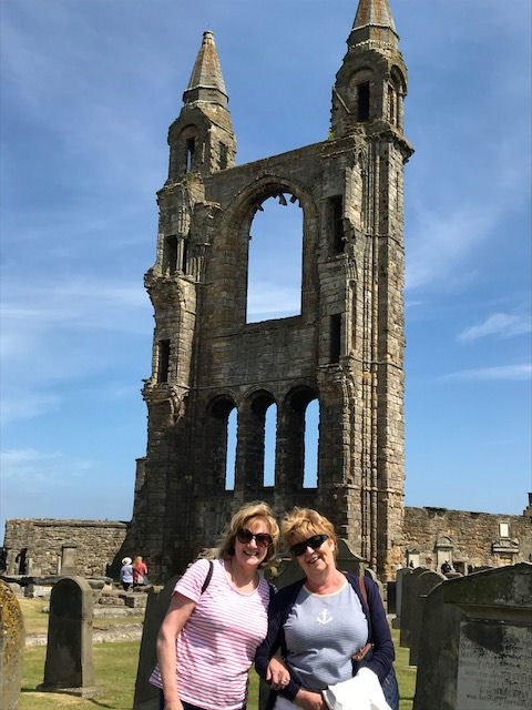 Parish members were at St Andrews 700th Anniversary.