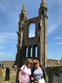 Parish members were at St Andrews 700th Anniversary.