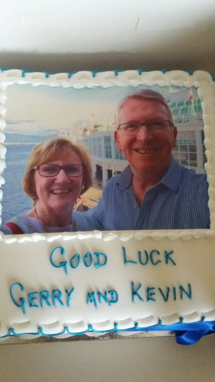 Gerry and Kev's Cake