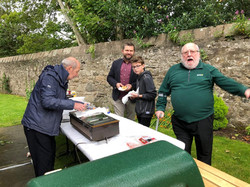 Barbecue for Fr Rays 80th