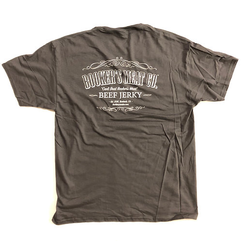 Booker's Meat Co. T-Shirt - GREY