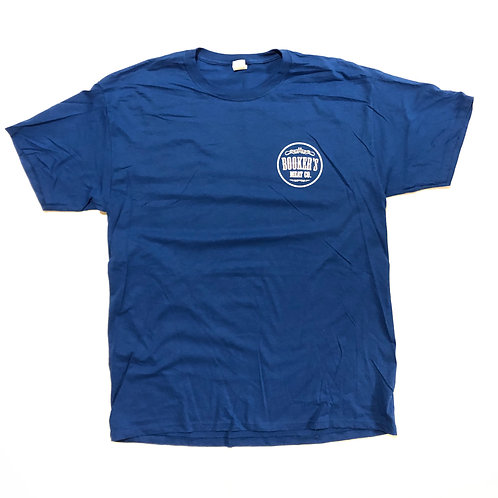 Booker's Meat Co. T-Shirt - ROYAL BLUE