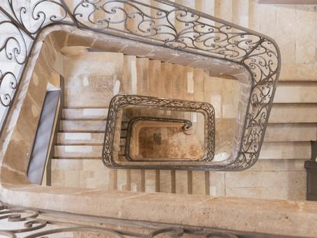 Bordeaux centre : appartement T4 dernier étage plein centre avec terrasse et ascenseur privé