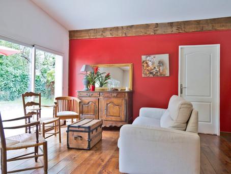 Bouscat : Maison 80m2 avec jardin de 300 m2 -2 Chambres