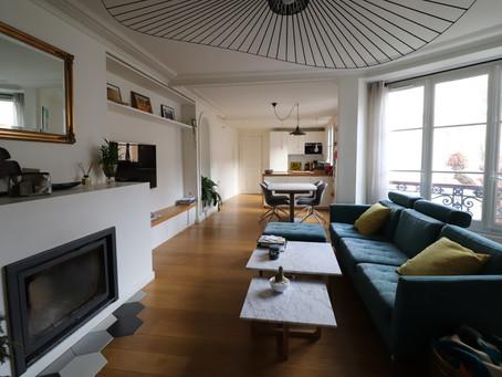 Paris 9ème- rue Clauzel-Martyrs : appartement 3 pièces 90m2