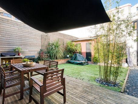 Coeur des Chartrons : Loft 3/4 pièces - 2 Chambres - 110 m2 avec jardin