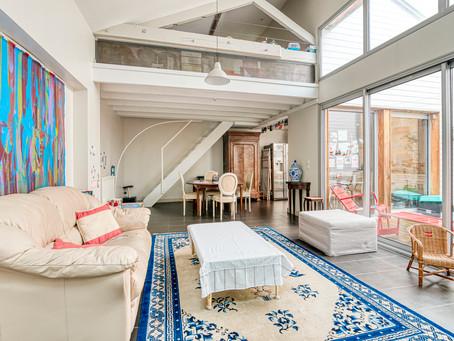 jardin public : Loft 3 chambres 120 m2 parking et terrasse