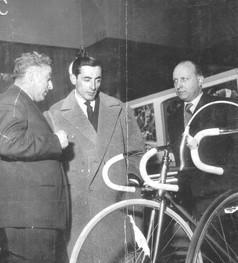 Cino Cinelli e Fausto Coppi