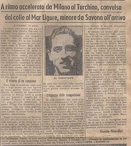 1943 Milano Sanremo Cinelli
