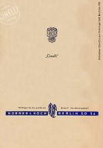 Hübner & Koch 1955-56