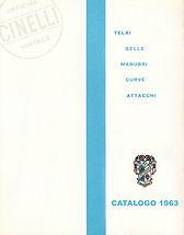 Cinelli Catalog 1963