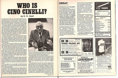 cinelli interview