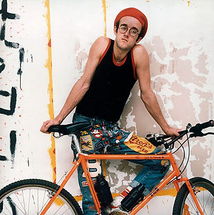Keith Haring Cinelli Rampichino