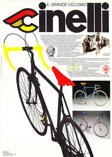 Cinelli Depliant 1982
