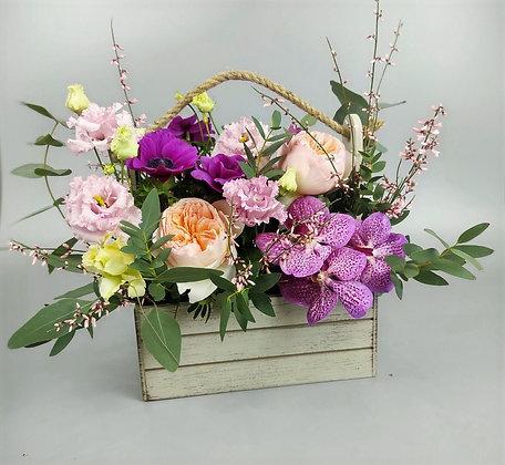 0311 ящик с цветами