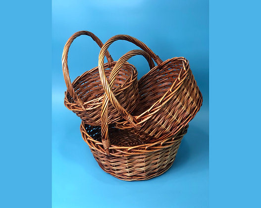 Набор корзин плетенных №2
