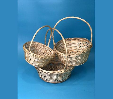 Набор корзин плетенных №3