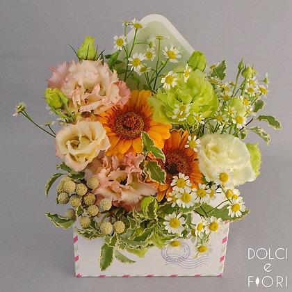 0561 конверт с цветами