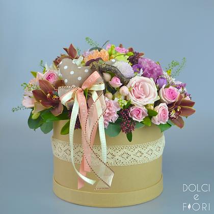 0450 цветы в коробке