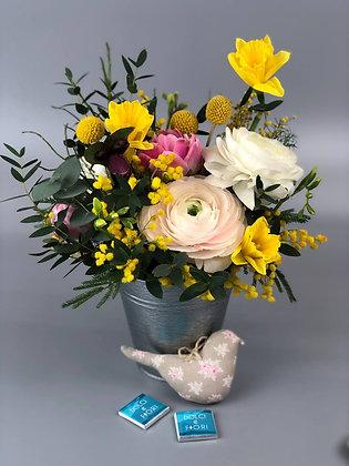 0394 композиция с цветами