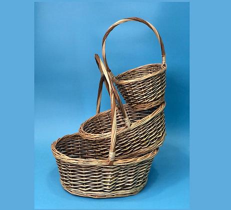 Набор корзин плетенных №4