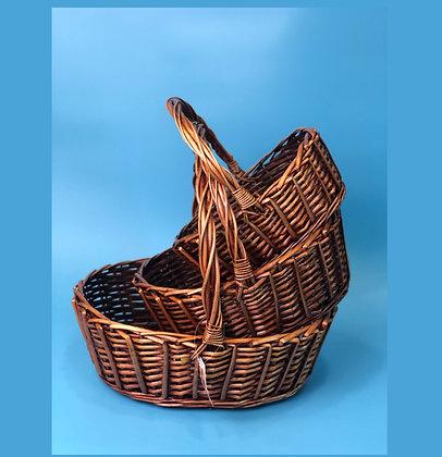 Набор корзин плетеных №1