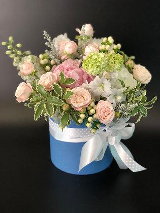 0229 коробка с цветами