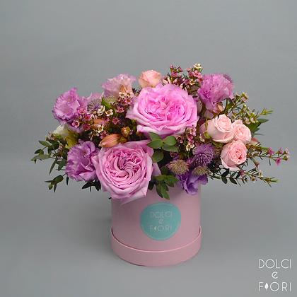 0490 коробка с цветами