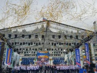 СКА Чемпионы!!! / Санкт-Петербург, Дворцовая площадь, 28 мая