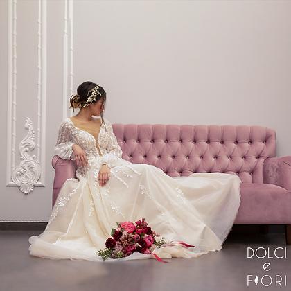 0542 свадебный букет