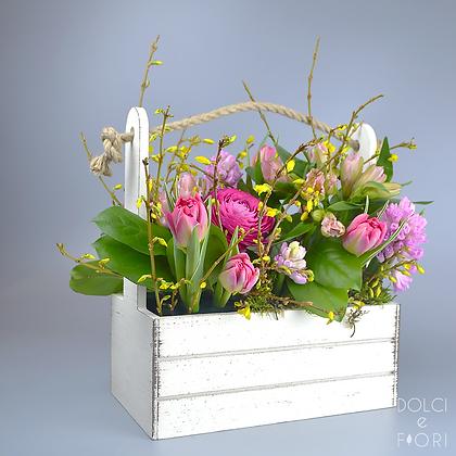 0427 ящик с цветами