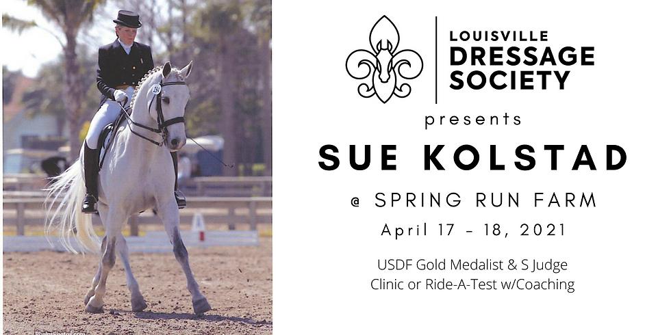 Sue Kolstad Clinic or Ride-a-Test